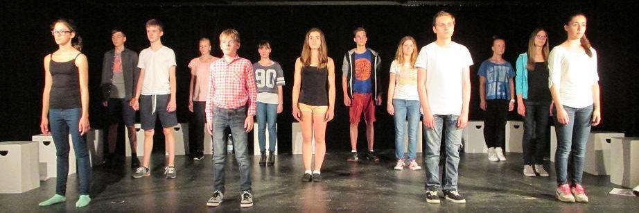Theater AG der Gesamtschule Fischbach: 14