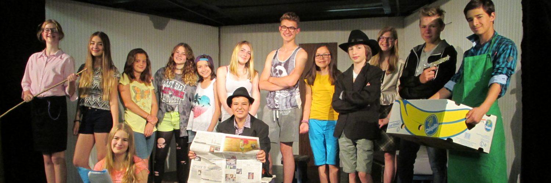 Schmuddelkinder, Regie: Volker Zill, Theater AG der Gesamtschule Fischbach, 2015