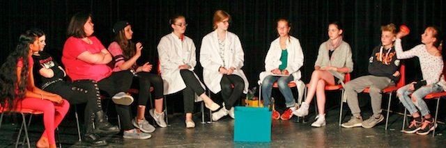 Theater AG der Gesamtschule Fischbach: Smombies